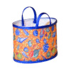 Handcrafted Orange Beach Bag