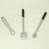 Three Piece Barbeque BBQ Tool Set