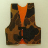 Handcrafted Camo Hunting Vest