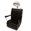 Handcrafted Black Beauty Salon Hair Dryer Chair