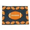 Small Football Theme Rug or Doormat