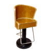 Handcrafted Beauty Salon Gold Sparkle Hair Cutting Styling Chair