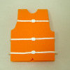 Handcrafted Orange Life Jacket