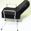 Handcrafted Black Beauty Salon Tilted Back Shampoo Chair