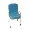 Handcrafted Beauty Salon Blue Sparkle Shampoo Chair