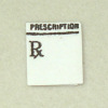 Miniature Medical Prescription Pad