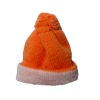 Wearable Orange Knit Ski Cap Hat