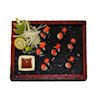 Twin Heart Crab Leg Sushi Bento Box - Square