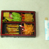 Handcrafted Twin Heart Fried Shrimp Bento Box