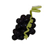 Twin Heart Handcrafted Fruit - Purple Wine Grapes