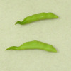 Twin Heart Handcrafted Vegetable - Pair of Peapods