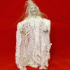 Haunted Halloween Undead Standing Zombie Ghost Lady