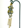 Wilhelmina Metal Cats Wind Chime for your Dollhouse Garden