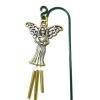Wilhelmina Metal Angel Wind Chime for your Dollhouse Garden