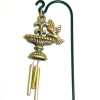 Wilhelmina Bird Birdbath Wind Chime for your Dollhouse Garden