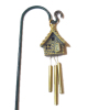 Wilhelmina Birdhouse Windchime for your Dollhouse Garden