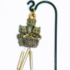 Wilhelmina Kittens In Basket Windchime for your Dollhouse Garden