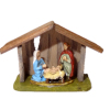 Wilhelmina Handcrafted Christmas Nativity Creche