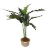 Wilhelmina Handcrafted Potted Palm Tree Floor Plant