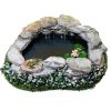Wilhelmina Handcrafted Filled Pond with Dripping Water