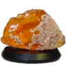 Mounted Natural Mineral Specimen - Fire Opal