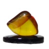 Mounted Natural Mineral Specimen - Translucent Amber