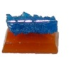 Mounted Natural Mineral Specimen - Blue Pentagonite