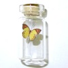 Handcrafted Yellow Butterfly In Glass Jar