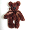 Tiny Jointed Brown World of Miniature Bears Bear