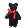 Tiny Black Jointed World of Miniature Bears Teddy Bear