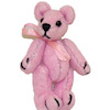 Tiny Cotton Candy Pink Neon Bear World of Miniature Bears