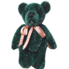 "Forest Green Jointed Teddy Bear - World of Miniature Bears (2"")"