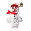 World of Miniature Bears Snowman Snow Bear