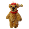 "1 1/2"" Jointed World of Miniature Bears Alfie Sleepy Time Bear"