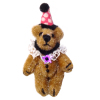 Jointed World of Miniature Bears Party Clown Bear