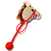 World of Miniature Bears Handcrafted Stick Horse Hobby Horse
