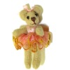 World of Miniature Bears Ballerina Bear in Pink Tutu