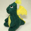 Tiny World of Miniature Bears Stuffed Dragon