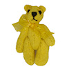 World of Miniature Bears Gold Suede Micro Bear
