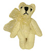 World of Miniature Bears Country Cream Suede Micro Bear