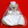 World of Miniature Bears June The Bride Bear