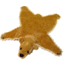 World of Miniature Bears Light Brown Bear Rug