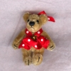 Tiny Jointed World of Miniature Bears Polka Dottie Dot Bear