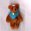 Tiny Jointed World of Miniature Bears Southwestern Princess Bear