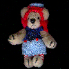 Red Head Bear - World of Miniature Bears