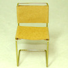 Warren Richardson Handcraft Modern Tan Leather Chair