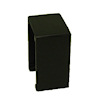 Warren Richardson Handcrafted Modern Black Wood End Table