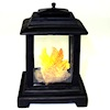 Outdoor Garden or Patio Deck Chiminea Fireplace with Flames